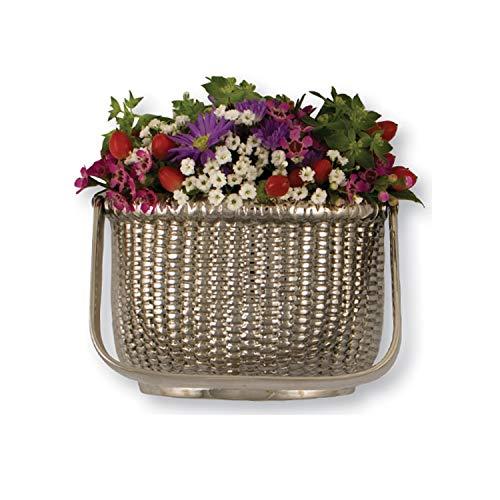 Nantucket Basket Door Knocker - Nickel (Premium Size)