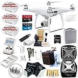 DJI Phantom 4 PRO Drone Quadcopter Bundle Kit with 3 Batteries, 4K Professional Camera Gimbal and...