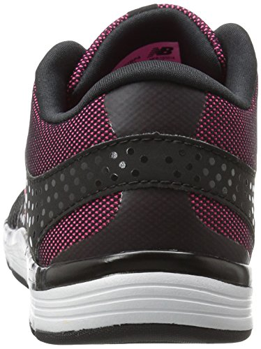 New Balance Only Training, Zapatillas Deportivas para Interior para Mujer Multicolor (Black/Pink)