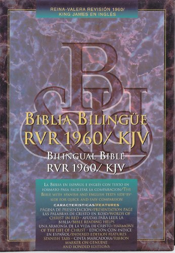 Santa Biblia: Holy Bible (Edicion Bilingue/Bilingual Edition - Espanol y Ingles / Spanish and English) (Spanish and English Edition) [Bible] (Tapa Dura)