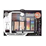 Art Easel Studio - Set de arte 163 piezas con caballete de aluminio