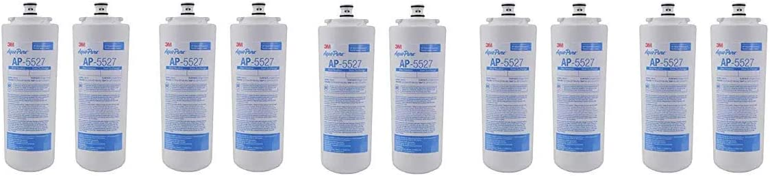 AquaPure AP5527 5598101 Under Sink Reverse Osmosis Replacement Filter Cartridge,Pack of 2