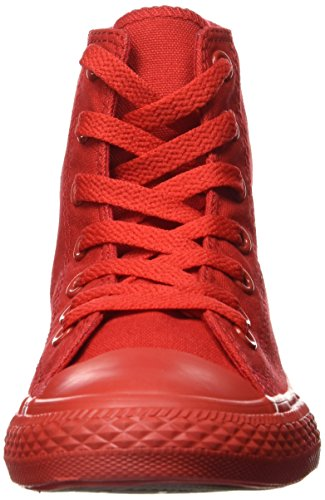 Hi Rosso Monochrome All Canvas Unisex Sneakers Stringate Star – Converse Bambini FT7wWqZUW