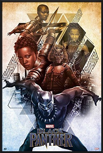Black Panther - Framed Marvel Movie Poster / Print