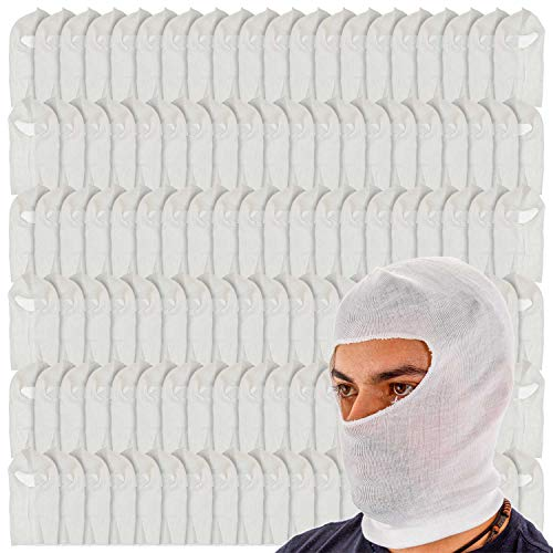 TCP Global Premium Painters Spray Socks, One Size Fits All (Case of 120) - Snug Soft Stretch Cotton Hood Mask - Covers Head to Protect Hair, Face, Neck from Paint Over-Spray, Sanding Dust, Dirt Debris by TCP Global (Image #4)