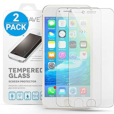 Yousave Accessories iPhone 6S / 6, iPhone 6S Plus / 6 Plus And iPhone 5S / 5 / SE / 5C Twin Pack Glass Screen Protector
