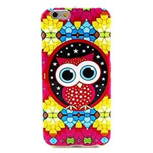 iPhone 6 Case, WBowen Colorful Bird Pattern Silicone Soft Cover and Mini Diaplay Stand for iPhone 6