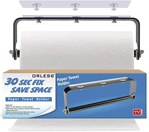 ORLESS Adhesive Drilling Suitable Bathroom