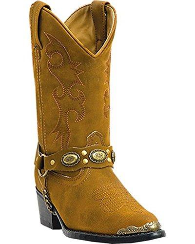 Laredo Toddler/Little Kid Little Concho Boot,Brown,11.5 M US Little Kid (Laredo Concho Harness Boots compare prices)