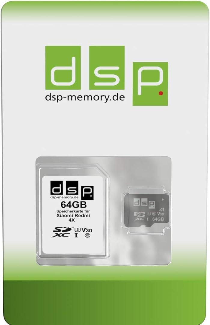 Dsp Memory 64gb Speicherkarte Für Xiaomi Redmi 4x Computer Zubehör