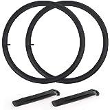 REPAIR KIT Valve Cycle Bike Tubes 27.5 x 1.75-2.40 2 x SCHRADER Car Type