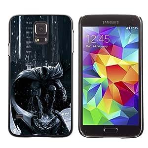 Paccase / SLIM PC / Aliminium Casa Carcasa Funda Case Cover - Pc Console Character Grey Black - Samsung Galaxy S5 SM-G900