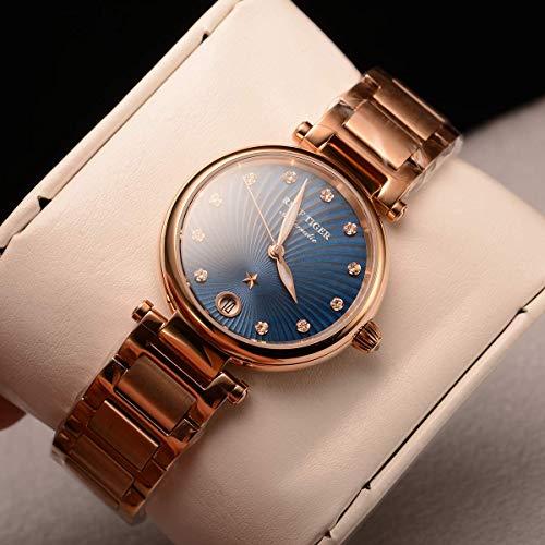 Reef Tiger 2019 Fashion Ladies Watch Bracelet Watches Sapphire Glass Automatic Watch RGA1590