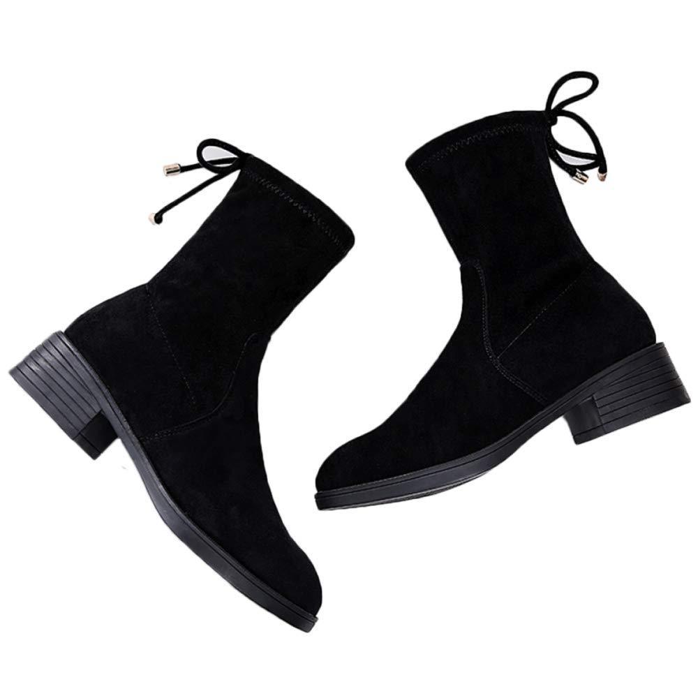 QQWE QQWE QQWE Damenstiefeletten Verdicken Martin Stiefeletten Schnürstiefeletten Stiefeletten Damen Schuhe d7ee88