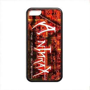 LJF phone case Rockband Modern Fashion Guitar hero and rock legend Phone Case for iPhone 5C(TPU)
