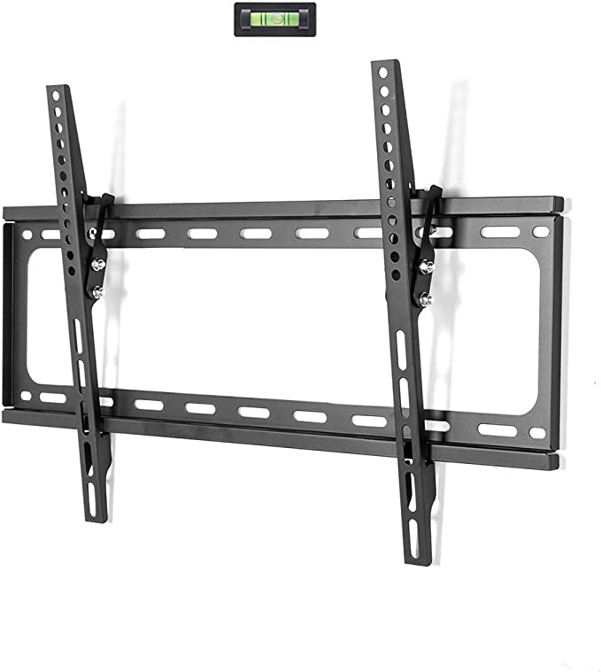 Fleximounts Tilt Low Profile Tv Wall Mount Bracket For Most 32 65 Inch Led Plasma Flat Screen Tvs Fits 16 24 Wood Studs Tilting Tv Mount With Vesa 600 X 400mm Holds Up To 77lbs Furniture Decor