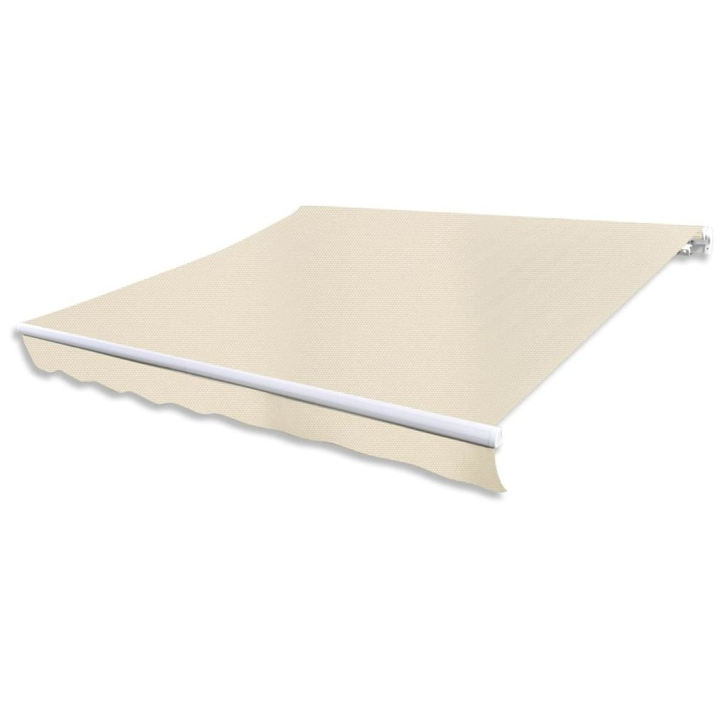 Festnight Outdoor Patio Sun Shade Awning Shelter Top Canvas 9' 10'' x 8' 2'' (Frame Not Included)