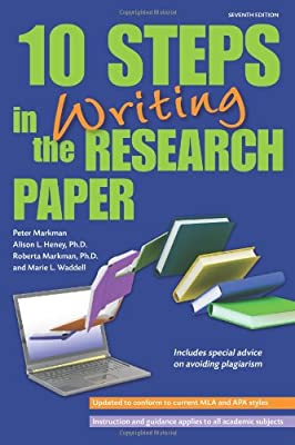 step by step writing a research paper