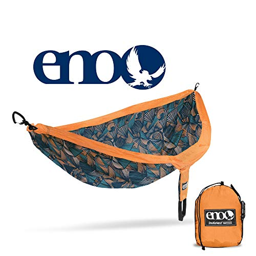 ENO - Eagles Nest Outfitters DoubleNest Print Portable Hammock for Two, Tribal: Copper