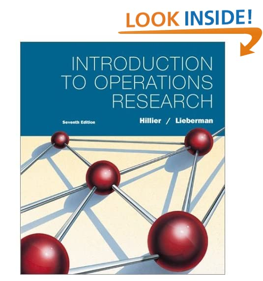 Introduction To Operations Research Hillier Pdf