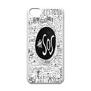 Best Quality [SteveBrady PHONE CASE] 5SOS,5 Second of Summer Band For Iphone 5c CASE-11