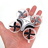 Mini Drone/Quadcopter,Teekland Headless Mode Remote Control RC Quadcopter (B03 Pro 716 Motor 61500rpm ) Ship from China (Gray)