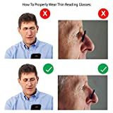 Noble Ultra Slim and Flat Reading Glasses Thin
