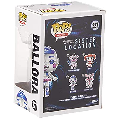 Funko POP! Games: Five Nights at Freddy's Sister Location - Ballora (styles may vary): Funko Pop! Games:: Toys & Games