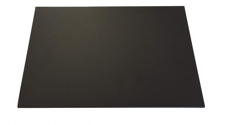 4,0mm plaque rigide en PVC Noir env. 495x 495mm Compact PVC