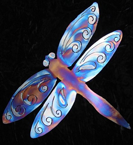 Fly Rc Dragonfly - DRAGONFLY House Home Metal Wall Art Decor Steel Lodge Cabin Interior