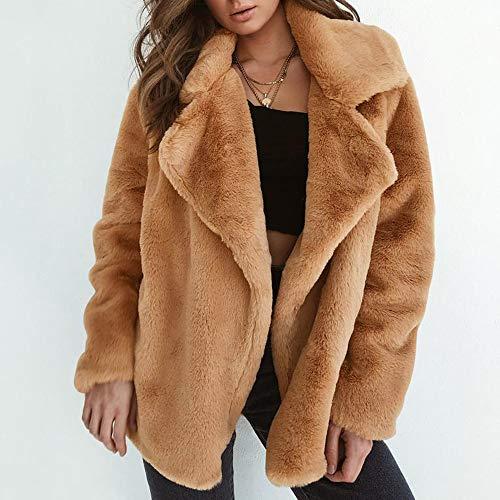 Hiver Polaire Lady Marron Hiver luckycat Automne Couleur Outercoat Outwear Chaud Longues Manches Parka Casual Unie Manteau qA8wIgx
