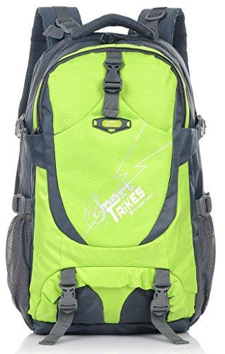 Binlion Taikes Outdoor Sport Camping Hiking Backpack mochila de senderismo Deportes y aire Libre para Mochilas y bolsas Mochilas Tipo Casual y Bolsas y Mochilas para portátiles y netbooks Black-2