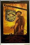 High Plains Drifter Clint Eastwood 25x37 Poster