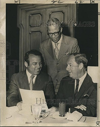 Vintage Photos 1971 Press Photo Dillard-Xavier Annual Fund Drive at The Royal Orleans Hotel - 10.25 x 8 in. - Historic Images