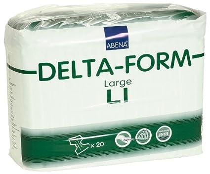 ABENA Delta Form L1 - Pañales para adultos (talla L)