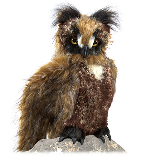 Folkmanis Great Horned Owl Hand Puppet