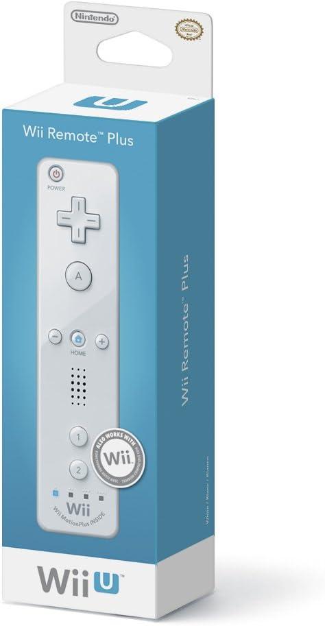 amazon com nintendo wii remote plus white nintendo wii u video rh amazon com Wii U Controller Wii U Controller