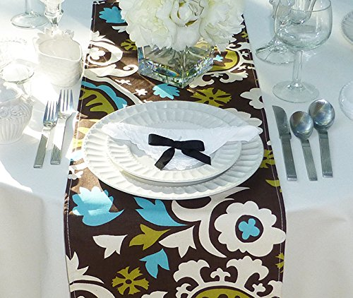 Appleberry Attic Suzani Table Runner Collection (Brown & ...