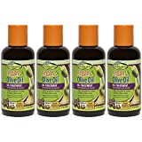 Sofn'Free GroHealthy Argan & Olive Oil – Oil Treatment for Hair (4 Oz) Pack Of 4