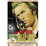 Dirty Harry (Aka Ispettore Callaghan: Il Caso Scorpico E Tuo) Clint Eastwood On Italian Poster Art 1971 Movie Poster Masterprint (24 x 36)