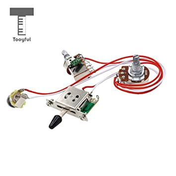 Value-5-Star - 1 Set Electric Guitar Wiring Harness Prewired ... on
