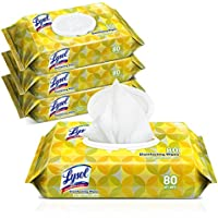 4-Pk of 80-Ct Lysol Handi-Pack Disinfecting Wipes (Lemon & Lime Blossom)