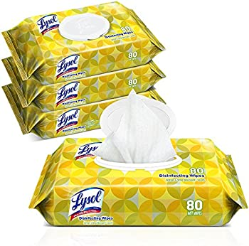 4-Pk of 80-Ct Lysol Handi-Pack Disinfecting Wipes