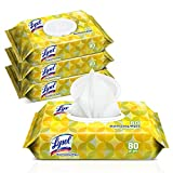 #10: Lysol Handi-Pack Disinfecting Wipes, 320ct (4X80ct), Lemon & Lime Blossom