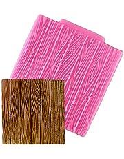 1pc Silicone Mould Tree Bark Texture Wood Pattern Mat Fondant Cake Decoration Sugar Baking Craft Mold Baking Tool