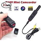 XuBa Mini Portable DV Camera Camcorder HD 1080P 720P Micro Camera Video Voice Recorder (10pcs)