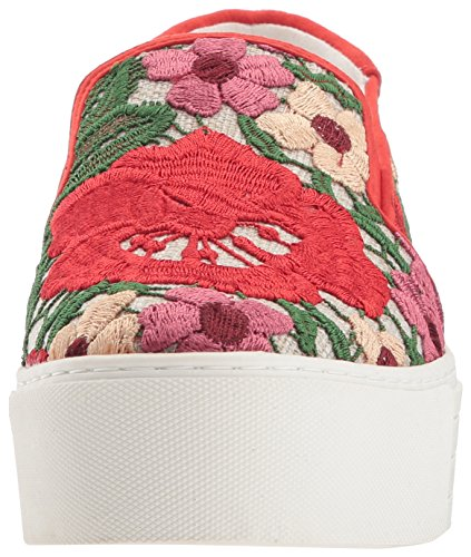 Women's Multi Slip York Joanie Kenneth New Cole Red Fashion Platform Sneaker UvqZqAtxw
