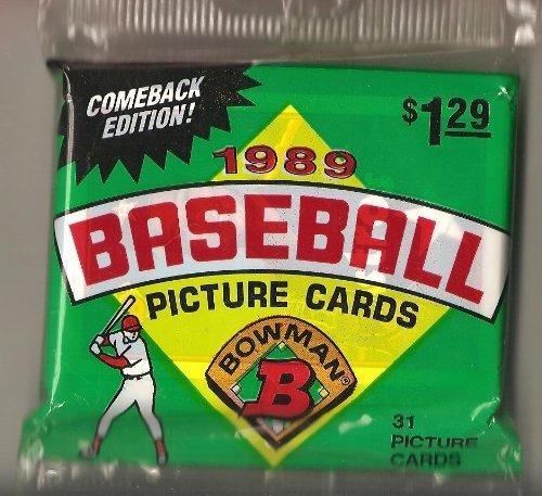 1989 Bowman Baseball Card Jumbo Pack - Ken Griffey Jr Rookie Card Possible