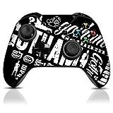 Controller Gear Gotham Graffiti - Xbox One Skin Set for Controller & Controller Stand - Black and White