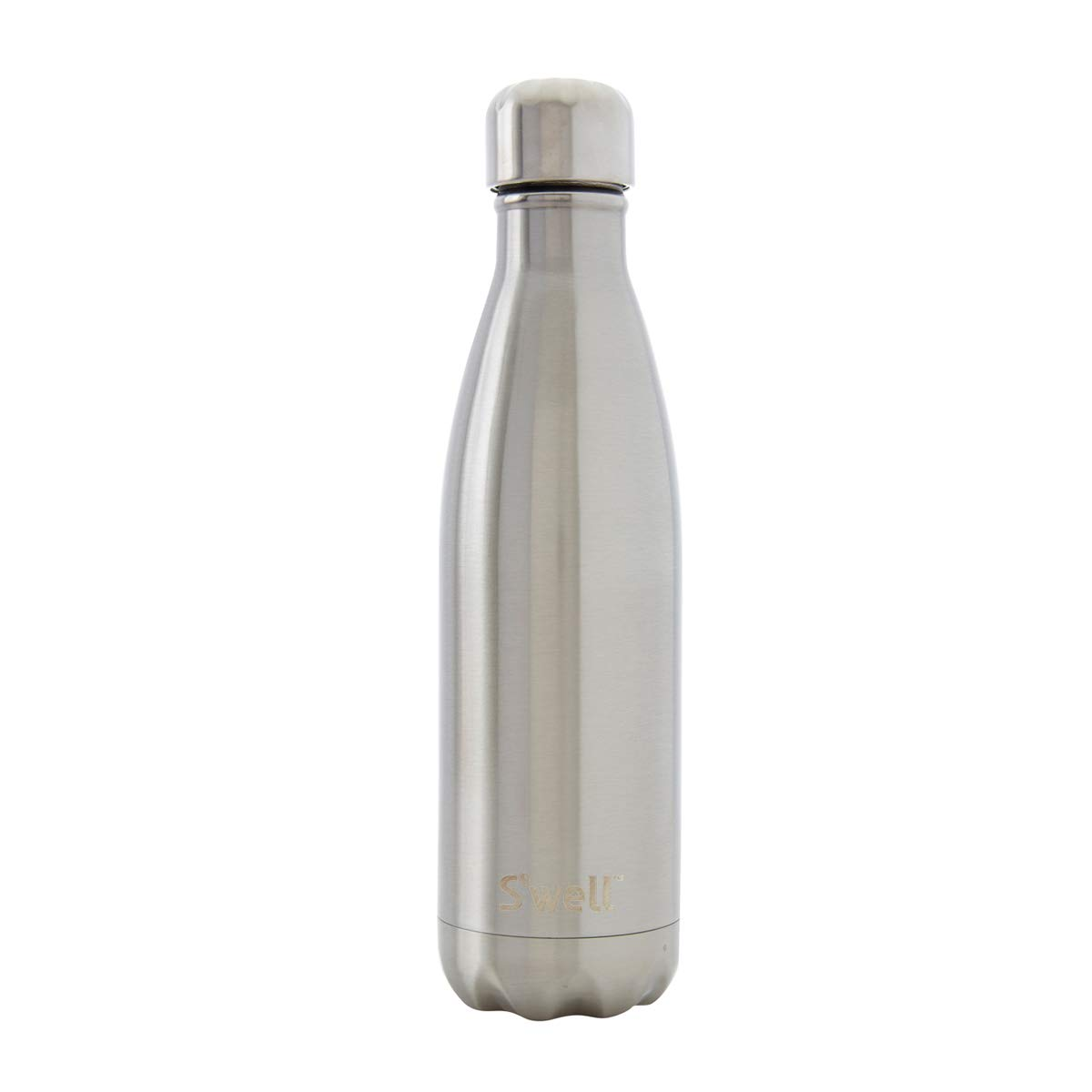 S'well Vacuum Insulated Stainless Steel Water Bottle, 17 oz, Silver Lining by S'well